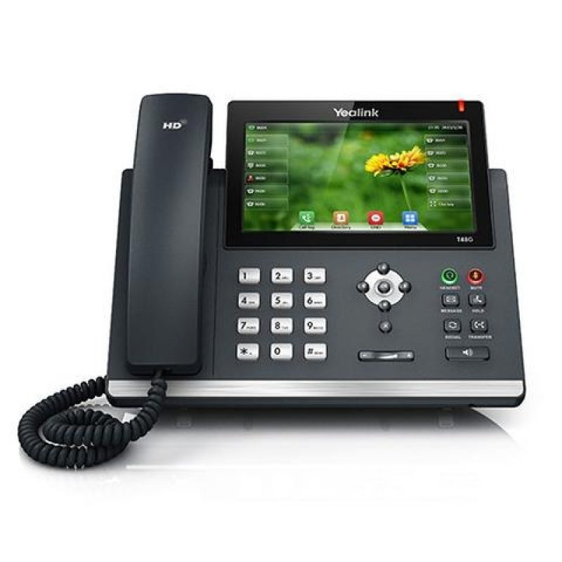 Yealink T48GN Touch Screen Gigabit Ports with POE